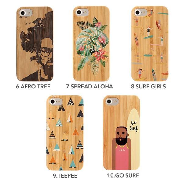 iPhone 8 7 6s 6 ケース おしゃれ アイフォン8 7 6s 6 ケース kibaco BAMBOO RUBBER CASE|keitai|03