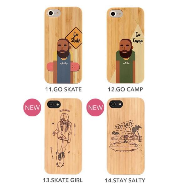 iPhone 8 7 6s 6 ケース おしゃれ アイフォン8 7 6s 6 ケース kibaco BAMBOO RUBBER CASE|keitai|04
