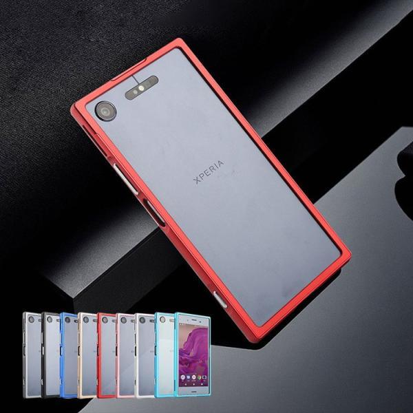 1129144f79 Xperia XZ1 アルミバンパー ケース ソニー エクスペリア XZ1 メタル アルミバンパースマートフォン/スマフォ/スマホ ...
