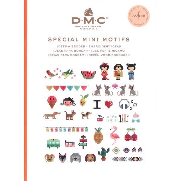 ミニブック DMC クロスステッチ 図案集 ミニモチーフ 15626D 【KY】【MI】 SPECIAL MINI MOTIFS