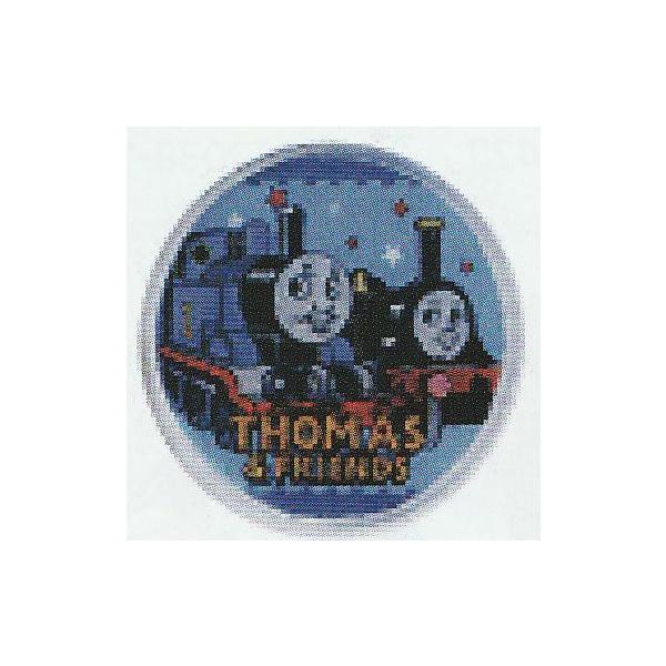 きかんしゃトーマストーマス 丸ボタン トーマス/エミリー TH012 30mm 1個【KN】稲垣服飾