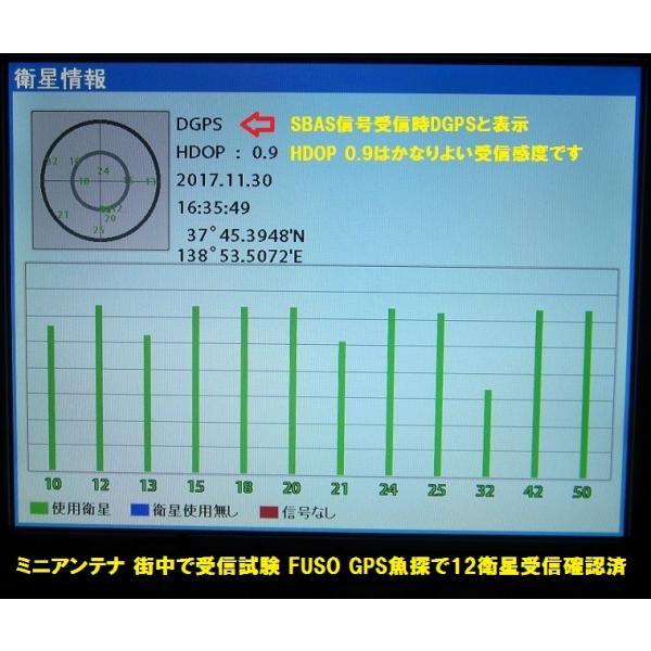 在庫あり FUSO(社外品)FE-8 FE-10 HG LG GPS魚探 ミニアンテナ BNCコネクタ仕様|keiyo3|04