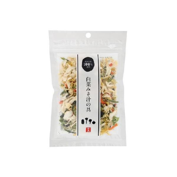 1006890-kf 白菜みそ汁の具40g【吉良食品】【1〜4個はメール便対応可】