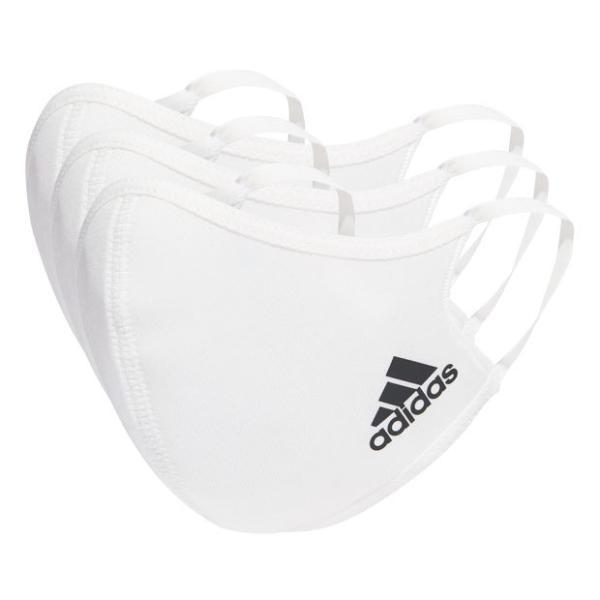 ジュニアフェイスカバーXS/S3枚組ホワイト adidas アディダス サッカーフットサルアクセサリーjmc44-h34588