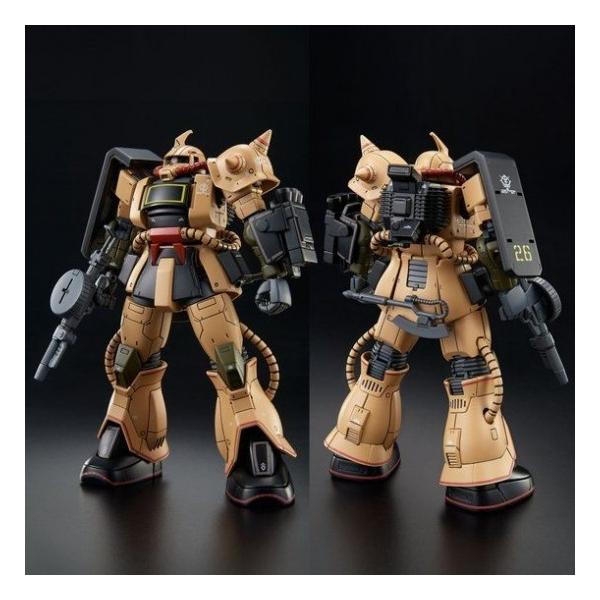 HG 1/144 MS-06D ザク・デザートタイプ (機動戦士ガンダム THE ORIGIN MSD) 新品  ガンプラ プラモデル 限定 (弊社ステッカー付)