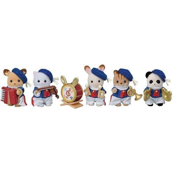赤ちゃんセレブレーションマーチングバンド 新品シルバニアファミリー    人形  ドール (弊社ステッカー付)