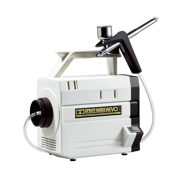 スプレーワーク HG コンプレッサー レボII (HGエアーブラシIII付) 74541 新品  タミヤ エアーブラシシステム