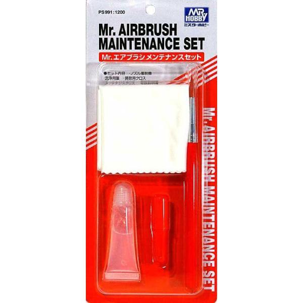 PS991 Mr.エアブラシメンテナンスセット 新品  GSIクレオス エアーブラシシステム (弊社ステッカー付)