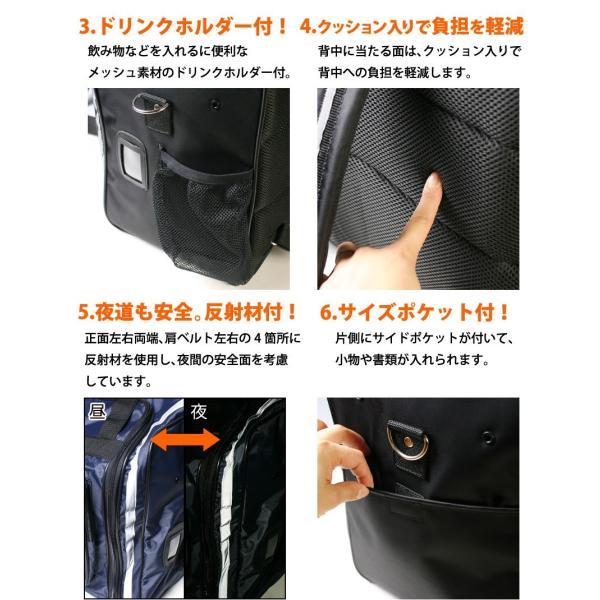 剣道 防具袋 ●防具バッグS(少年用3way) kendouya 03