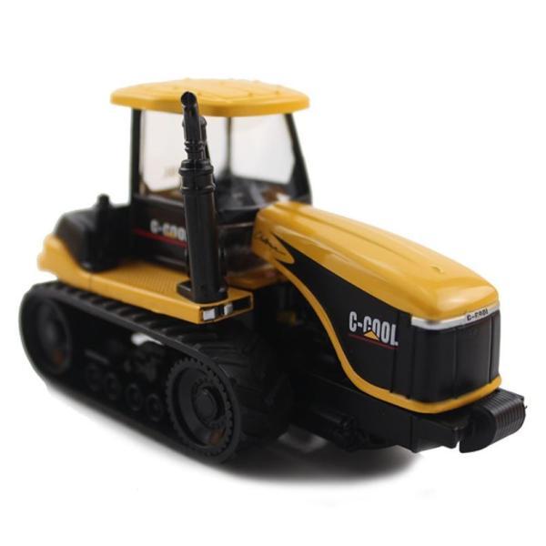トラクター 1/64 おもちゃ 農業トラクター エンジニアリングカー 建設車両 完成品 模型 合金モデル 送料無料|kenji1980-store|02