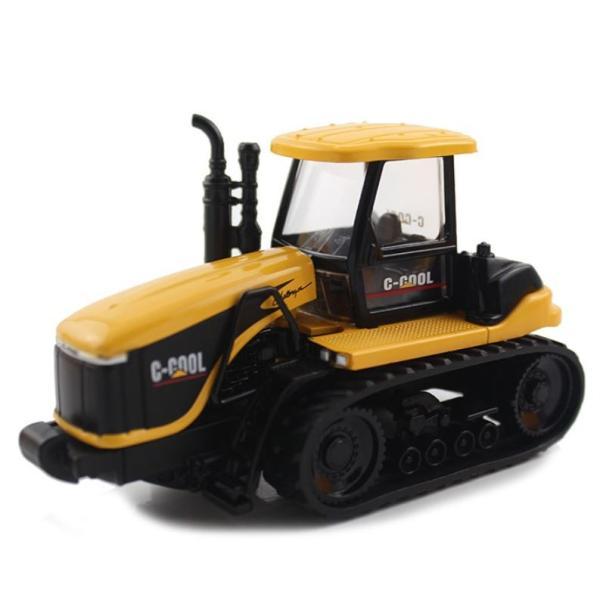 トラクター 1/64 おもちゃ 農業トラクター エンジニアリングカー 建設車両 完成品 模型 合金モデル 送料無料|kenji1980-store|03