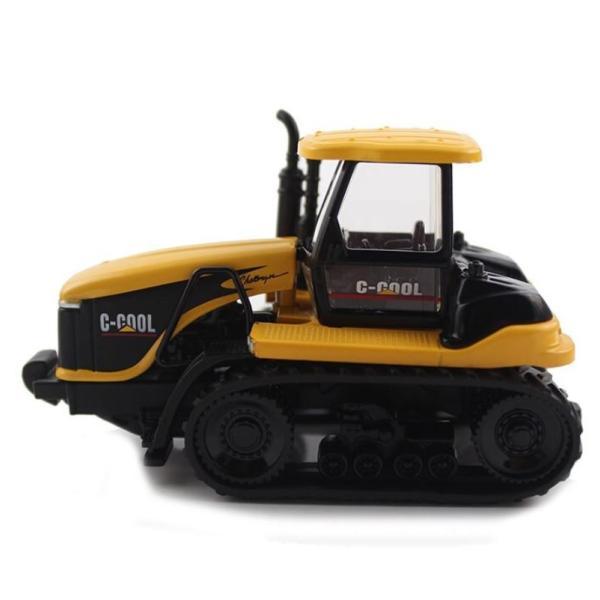 トラクター 1/64 おもちゃ 農業トラクター エンジニアリングカー 建設車両 完成品 模型 合金モデル 送料無料|kenji1980-store|04