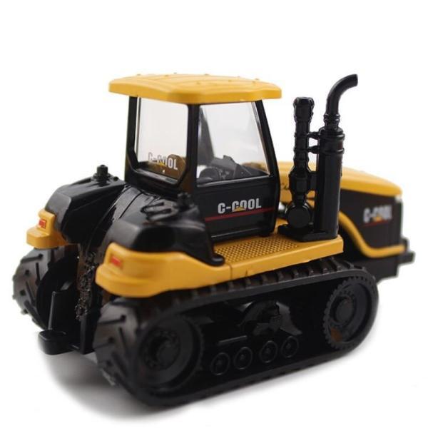 トラクター 1/64 おもちゃ 農業トラクター エンジニアリングカー 建設車両 完成品 模型 合金モデル 送料無料|kenji1980-store|05