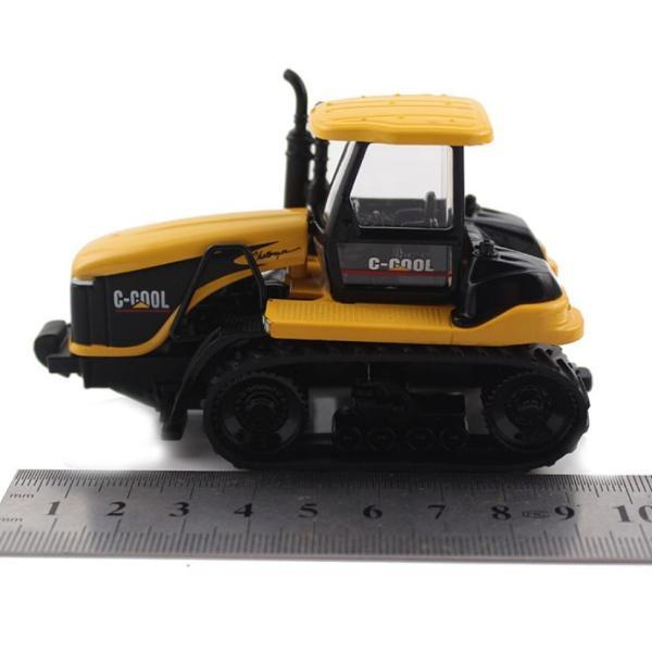 トラクター 1/64 おもちゃ 農業トラクター エンジニアリングカー 建設車両 完成品 模型 合金モデル 送料無料|kenji1980-store|06