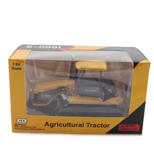 トラクター 1/64 おもちゃ 農業トラクター エンジニアリングカー 建設車両 完成品 模型 合金モデル 送料無料|kenji1980-store|07