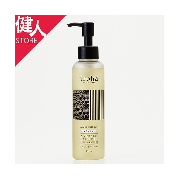 iroha INTIMATE CARE iroha INTIMATE WASH fresh ジュニパーとライムの香り 135ml