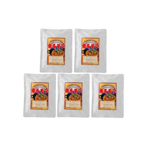 送料無料 秋田県産豚 やわらか味噌煮込みホルモン(200g×5)(3970023)(メーカー直送品・常温便)**(ギフト・プレゼントにおすすめ)