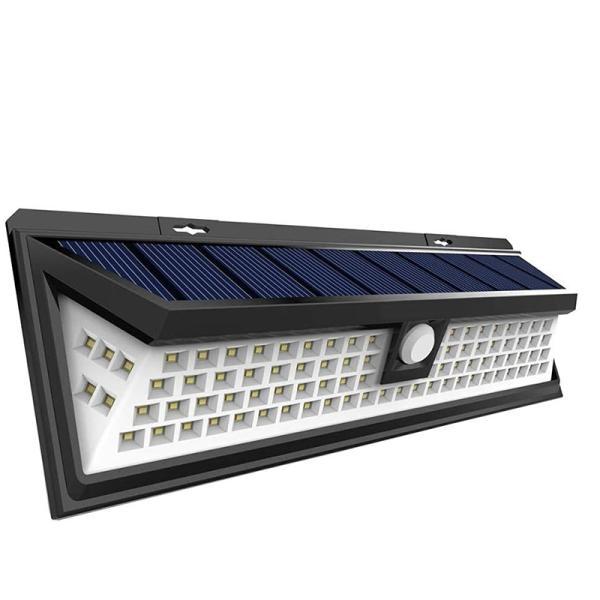 センサーライト ソーラー充電 三つ照明モード 明暗センサー 取付簡単 超超明るい