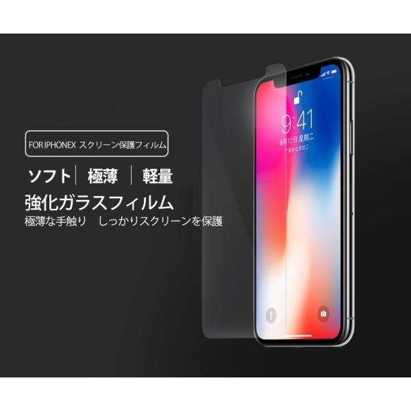 200円offクーポン ランキング1位常連 for iPhoneX for iPhone Xs XR XsMax スマホ 強化ガラスフィルム 9H硬度 0.26mm 液晶保護|kenkenanto|02
