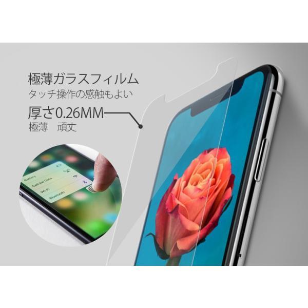 200円offクーポン ランキング1位常連 for iPhoneX for iPhone Xs XR XsMax スマホ 強化ガラスフィルム 9H硬度 0.26mm 液晶保護|kenkenanto|04