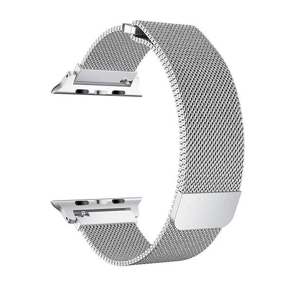 for Apple用 watch バンド ミラネーゼループ for アップルウォッチバンド for アップルウォッチ3 ステンレス留め金 watch series 3/2/1に対応 42mm spddm|kenkenanto
