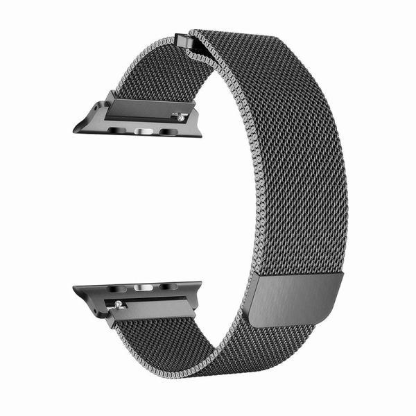 for Apple用 watch バンド ミラネーゼループ for アップルウォッチバンド for アップルウォッチ3 ステンレス留め金 watch series 3/2/1に対応 42mm spddm|kenkenanto|04