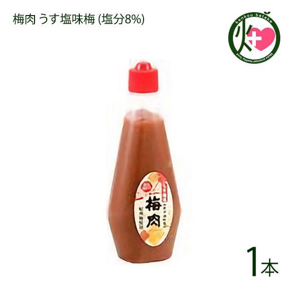 梅肉 うす塩味梅 (塩分8%) 340g×1本 濱田 梅肉ソース 梅肉チューブ クエン酸 リンゴ酸 マツコの知らない世界 条件付き送料無料