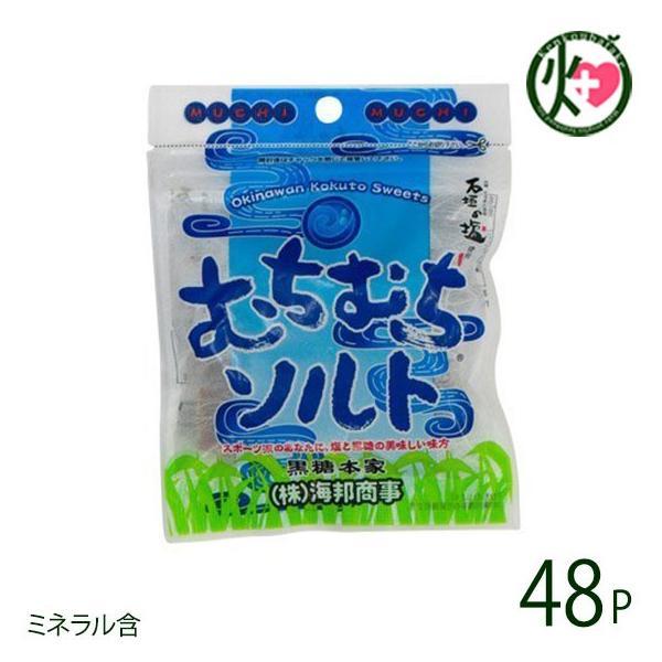 むちむちソルト 37g×48袋 黒糖 人気 沖縄 土産  条件付き送料無料