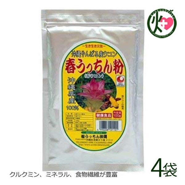 春ウコン 春うっちん粉 アルミ袋入 200g×4袋 うっちん沖縄 沖縄 人気 鬱金 粉末 高品質なウコンを使用 クルクミン ミネラル 食物繊維 送料無料