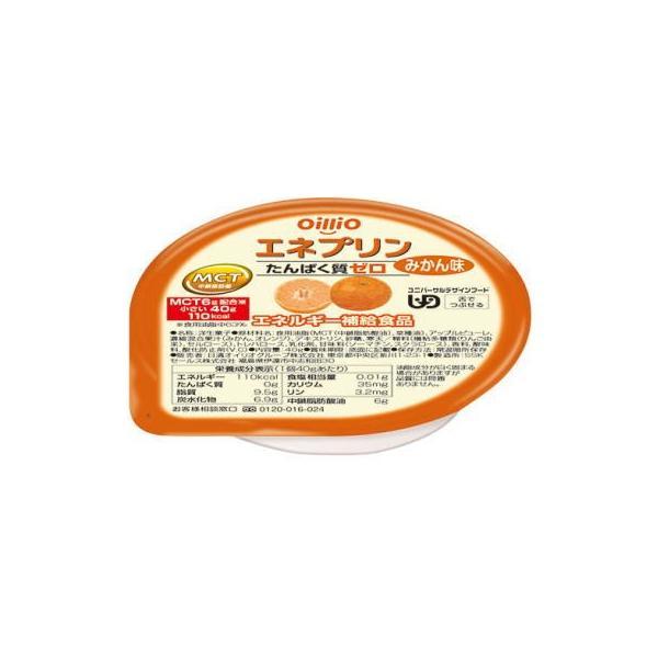 日清オイリオ エネプリン みかん味 40g×18個 たんぱく質調製 【栄養】