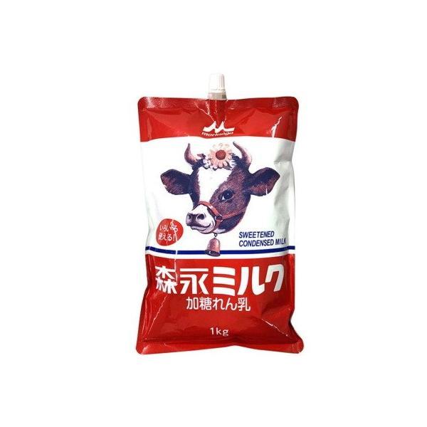 森永 ミルク 1kg 練乳 スパウトパウチ