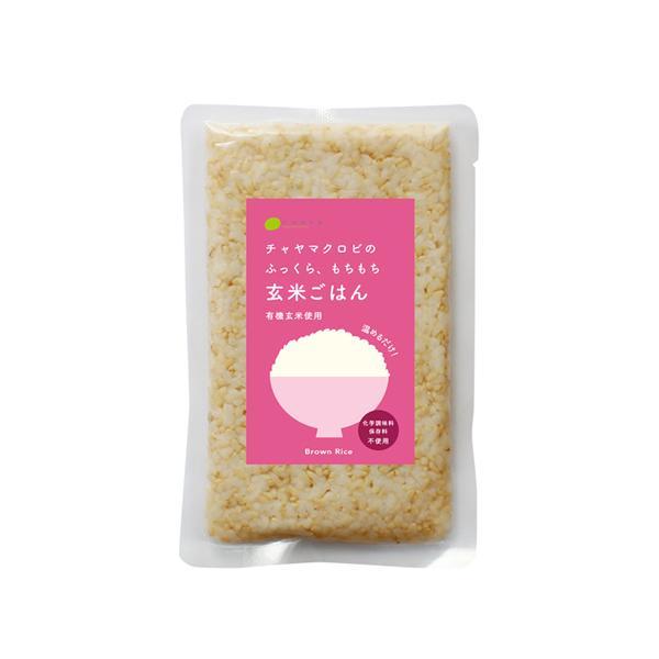 CHAYAマクロビフーズ 玄米のごはん 160g(レトルトごはん)