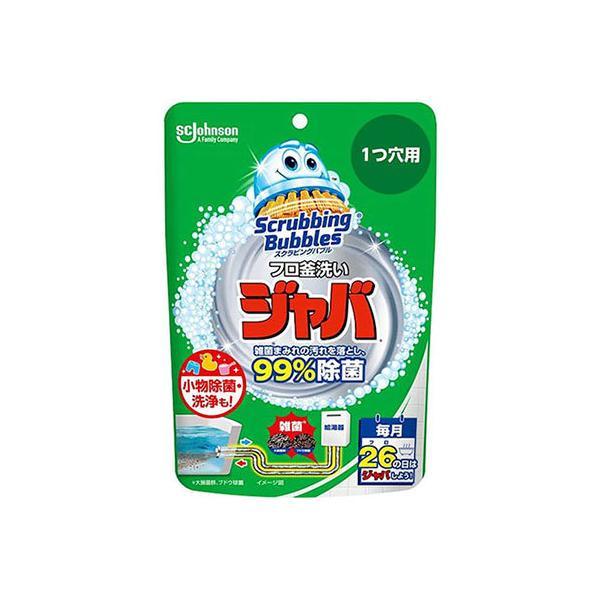 [ジョンソン]スクラビングバブル 風呂釜洗浄剤 ジャバ 1つ穴用 粉末タイプ 160g