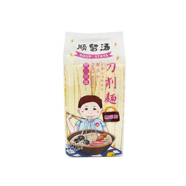 中国産 順留湯 刀削麺 500g x1個(無添加 とうしょうめん 湯餅)