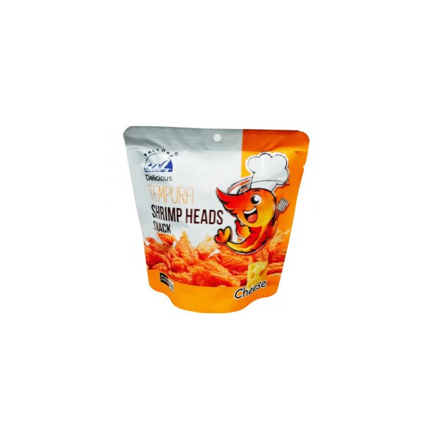 フォーロン エビ頭スナック チーズ味 25g(ベトナムおやつ おつまみ)TEMPURA SHRIMP HEAD