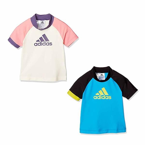 adidas アディダス Rashguard Short Sleeve K GKE90
