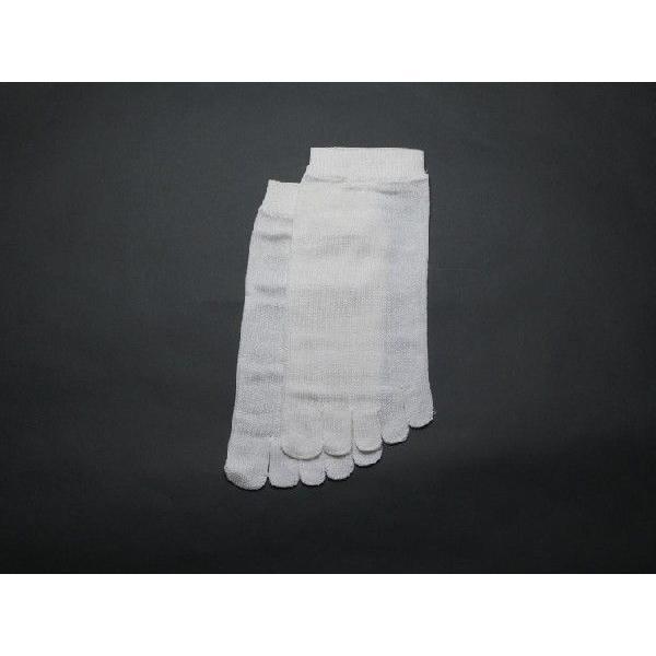 正活絹 JN 絹5本指靴下 Mサイズ