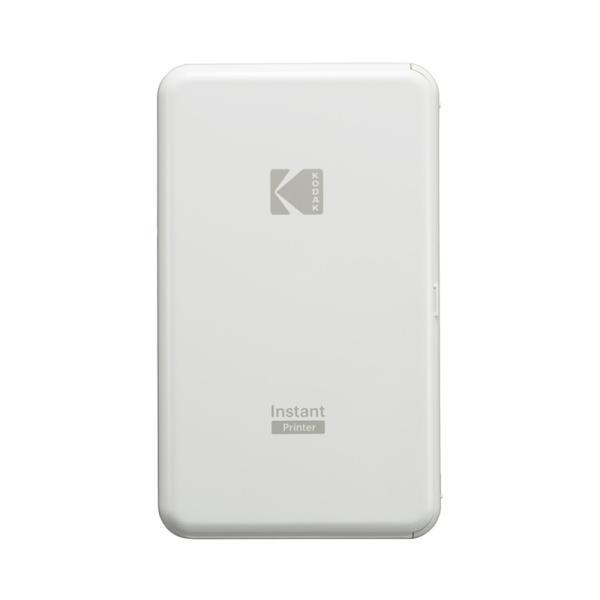 即配 KODAK (コダック) インスタントプリンター P210WH ホワイト いつでもどこでも、スマホの写真をプリント! kenkotokina