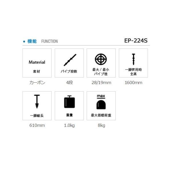 取寄  (TW) SIRUI シルイ 一脚 P・PSシリーズ マルチファンクションビデオ一脚(カーボン) EP-224S