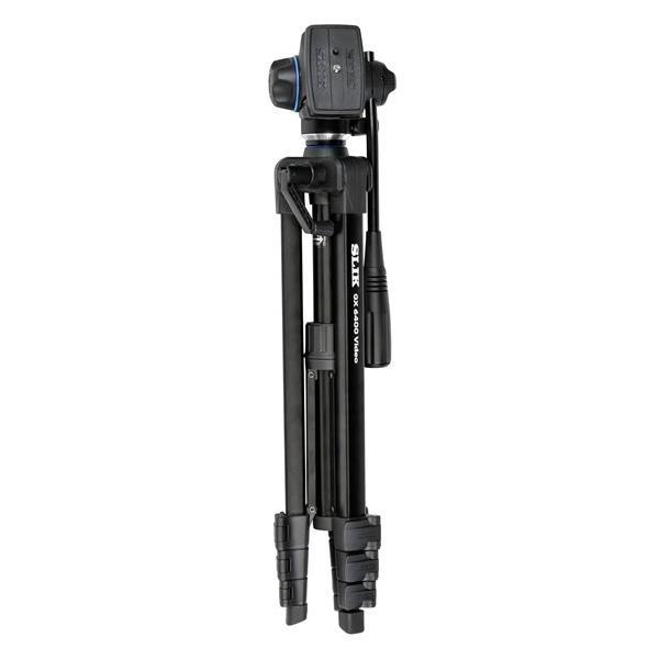 即配 (KT) SLIK スリック 三脚 Uシリーズ GX 6400 VIDEO  ビデオ専用の2ウェイ雲台を搭載|kenkotokina|04