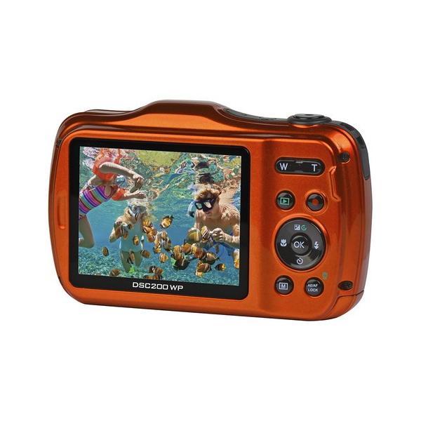 即配 (KT) ケンコートキナー KENKO TOKINA 防水デジタルカメラ DSC200WP microSDHC4GB付 kenkotokina 02