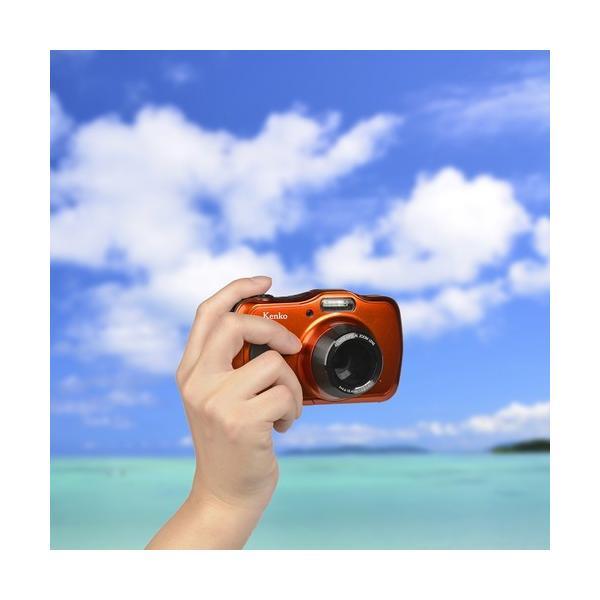 即配 (KT) ケンコートキナー KENKO TOKINA 防水デジタルカメラ DSC200WP microSDHC4GB付 kenkotokina 04