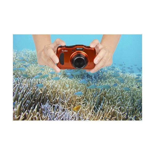 即配 (KT) ケンコートキナー KENKO TOKINA 防水デジタルカメラ DSC200WP microSDHC4GB付 kenkotokina 05