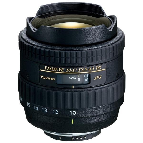 即配  トキナー TOKINA AT-X 107 DX Fisheye ニコン デジタル NIKON (10-17mm/F3.5-4.5) ケンコートキナー KENKO TOKINA 3年保証