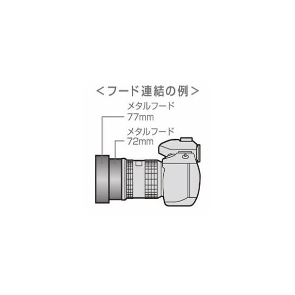 即配  レンズメタルフード LMHシリーズ 77mm LMH77-82 BK ケンコートキナー KENKO TOKINA