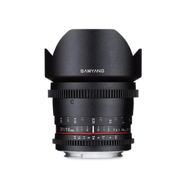 即配  (KT) SAMYANG (サムヤン)  シネマレンズ 10mm T3.1 VDSLR ED AS UMC CS ペンタックス K用