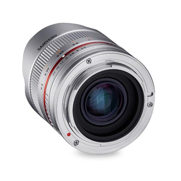 即配 (KT) SAMYANG サムヤン 8mm F2.8 UMC Fish-eye II  ソニーE用 シルバー