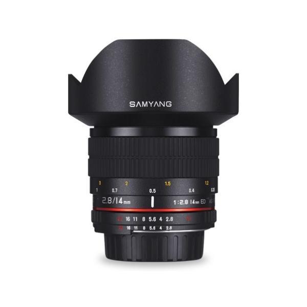 新古品(店舗保証3ケ月) 即配 (NO) SAMYANG サムヤン 14mm F2.8 ED AS IF UMC キヤノン EOS(EF)用