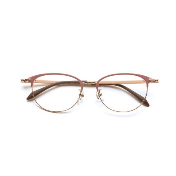 ピントグラス 老眼鏡 シニアメガネ おしゃれ スタイリッシュ ブルーライトカット 軽量 ハードコーディング 視力補正用メガネ PG-709 ブラック ピンク kenkou-otetsudai 11