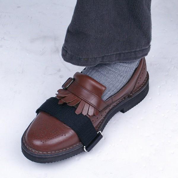 【在庫処分】靴 滑り止め レディース メンズ 男女兼用 スノースパイク 収納ポーチ付 雪道 凍結路面 雪 対策 スパイク 防滑 簡易スパイク|kenkou-otetsudai|06